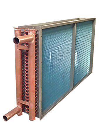 <b>Fin type air cooled condenser</b>