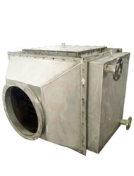 Flue gas heat exchanger